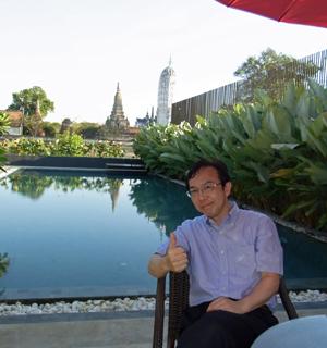 Ayutthayaにて
