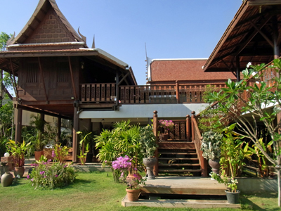 タイ様式で人気のバーンタイハウス