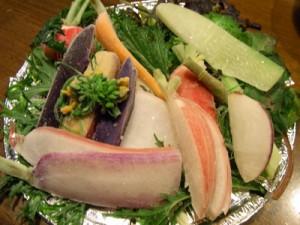 新鮮野菜のシャーベット